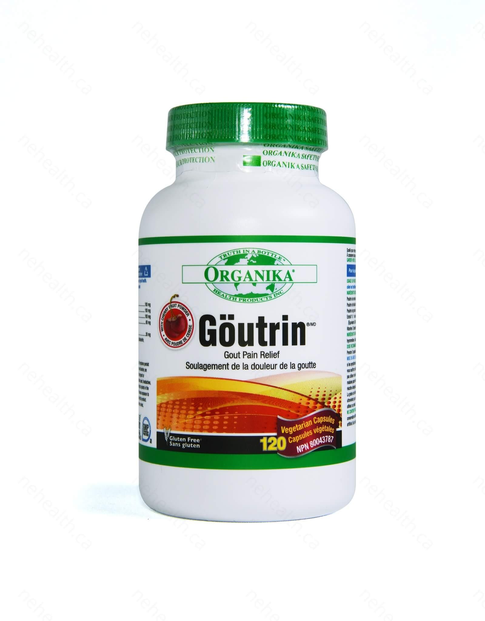 Organika Goutrin 120 Capsules